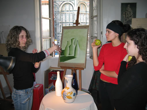 oil painting course IE Florence